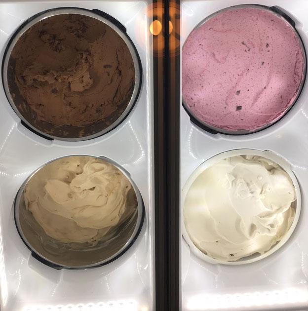 Goodion kookosmaitopohjaisia jäätelöitä