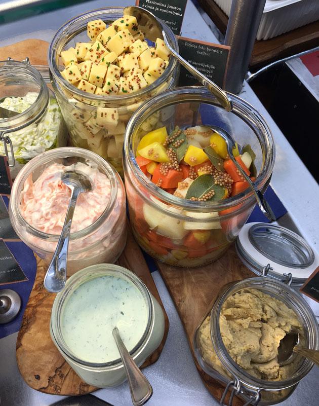 Viking Linen buffet: pohjoimaiset maut