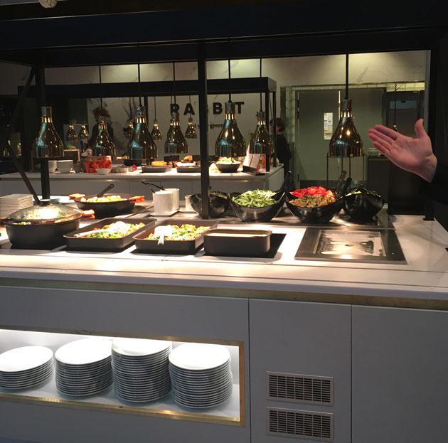 Fazer&Co -työpaikkaravintola Sanomatalossa