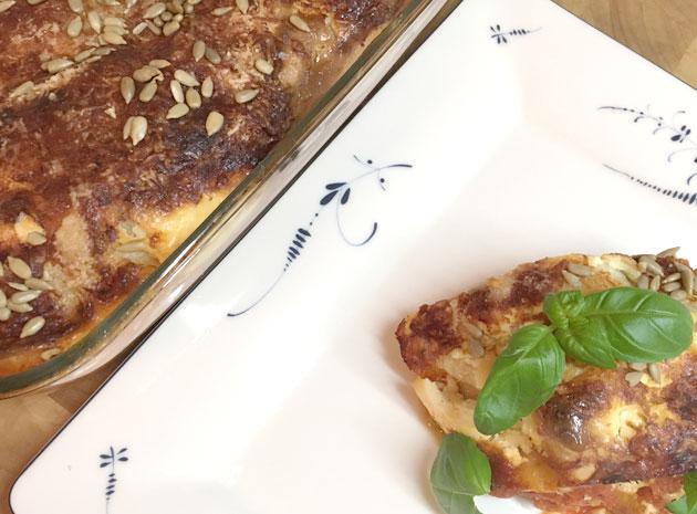 Meatless Monday: ihanakurpitsalasagne