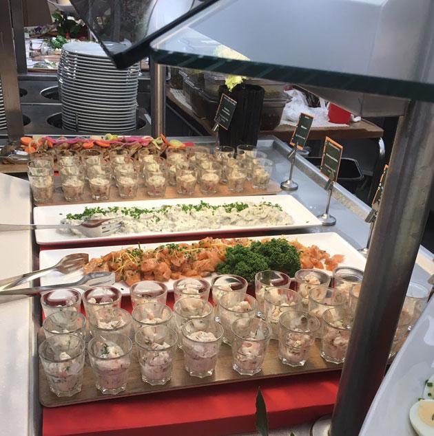 Viking Linen joulubuffet 2017 kalat