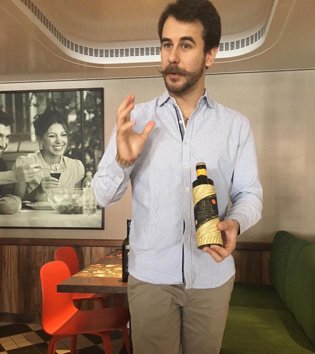Paolo Boer ja oliiviöljy