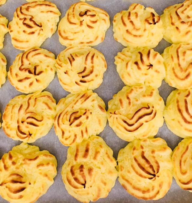Duchesse-perunat syntyvät hetkessä eilisestämuusista
