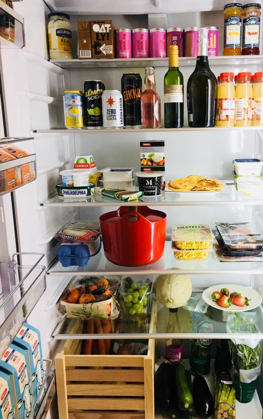 Kurkistus jääkaappiin