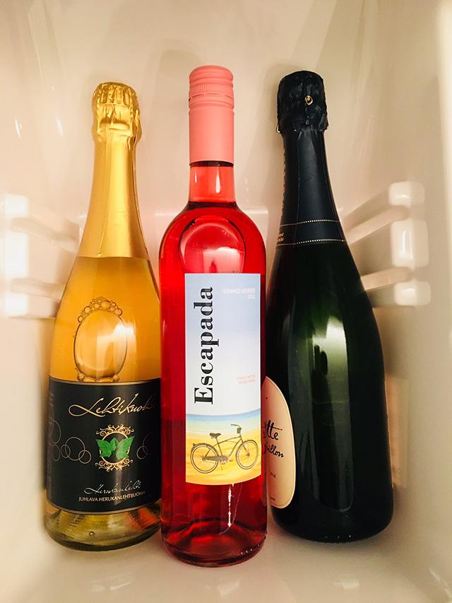 Festivo-kylmiöpakastimen nollalokero viilentää juomat